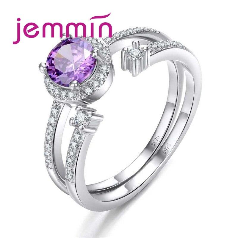 [해외]Jemmin  Fashion Statement 925 Sterling Silver Ring Set For Women Wedding   Party Gift HOT Selling 2019 New Design /Jemmin  Fashion Statement 925 S