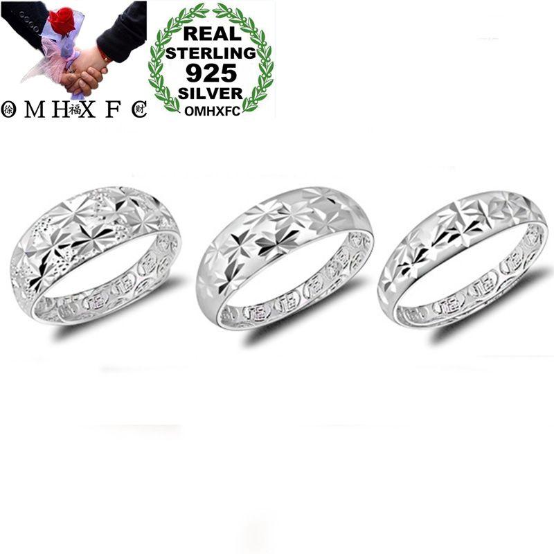 [해외]OMHXFC Wholesale European Fashion Woman Man UniParty Birthday Wedding Gift Star Resizable 925 Sterling Silver Ring RI161/OMHXFC Wholesale European