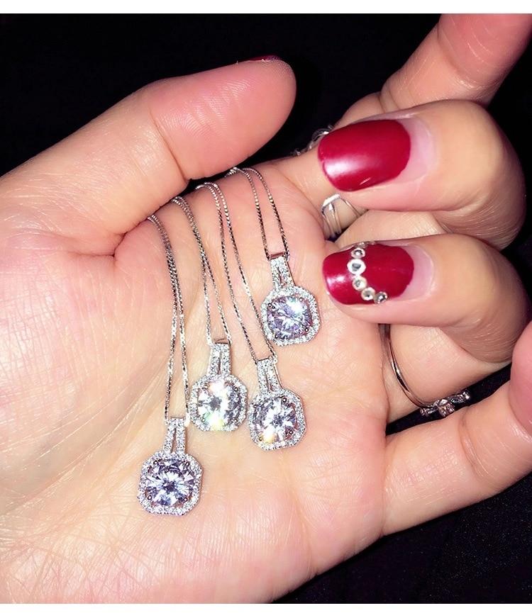 [해외]2020 New sector Original Crystals from s Opal Choker Necklaces 925 Jewelry For Women Christmas Party/2020 New sector Original Crystals f