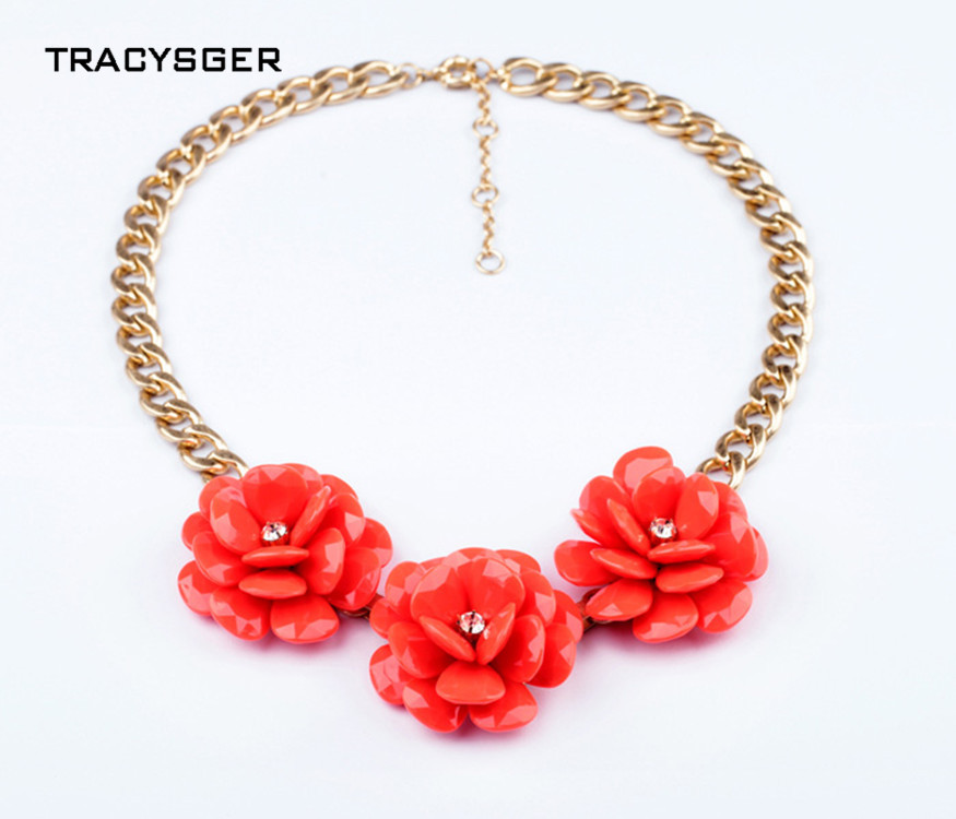 [해외]AB-xl00607 /TRACYSGER/ fashion  exaggerated flowers pendant sweater necklace/AB-xl00607 /TRACYSGER/ fashion  exaggerated flowers pendant sweater n