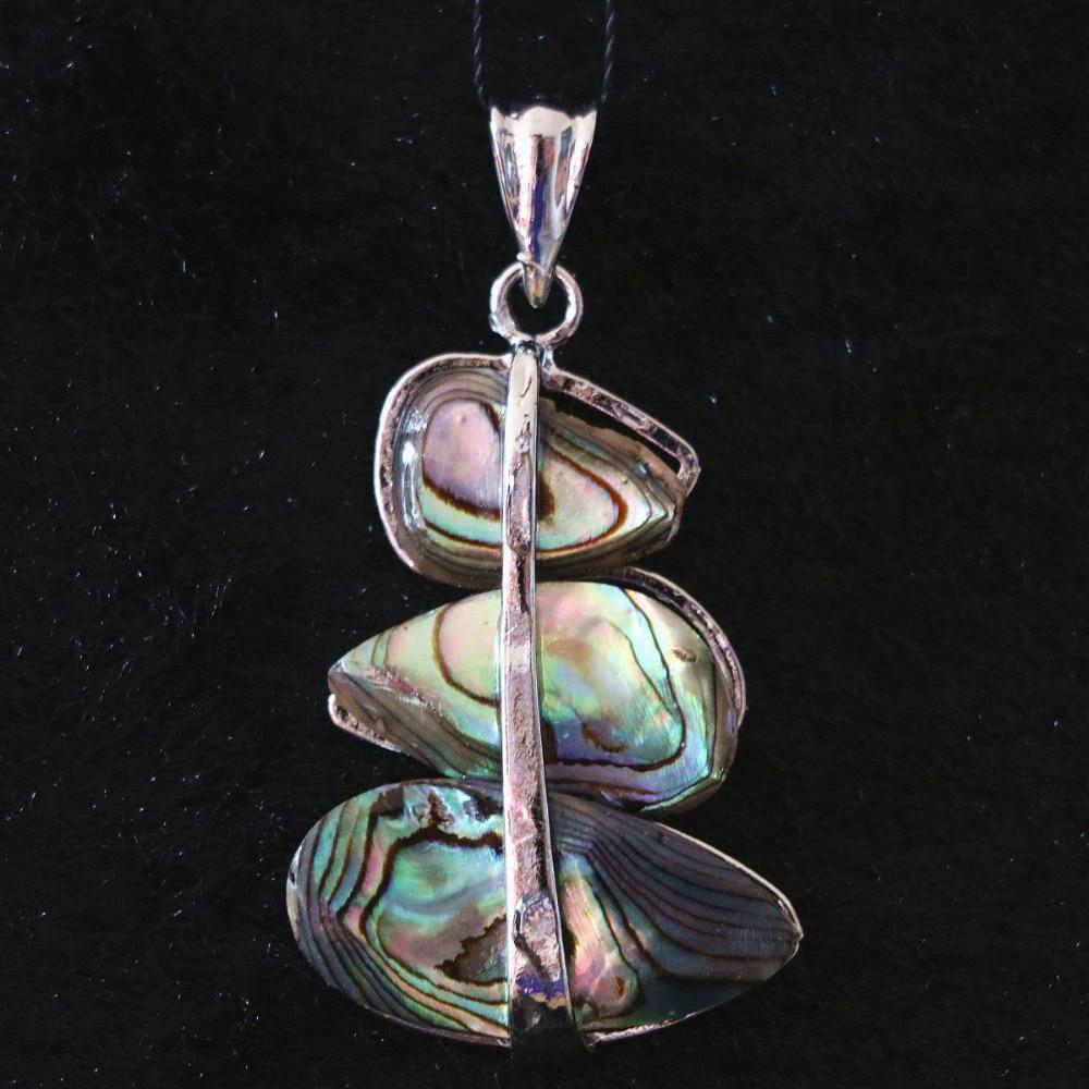 [해외]자연 전복 크리스마스 트리 27x37mm 펜던트 핫 세일 새로 디자인 패션 러블리 보석 B1147/Natural abalone Christmas tree 27x37mm pendant hot sale newly design fashion Lovely jewelry