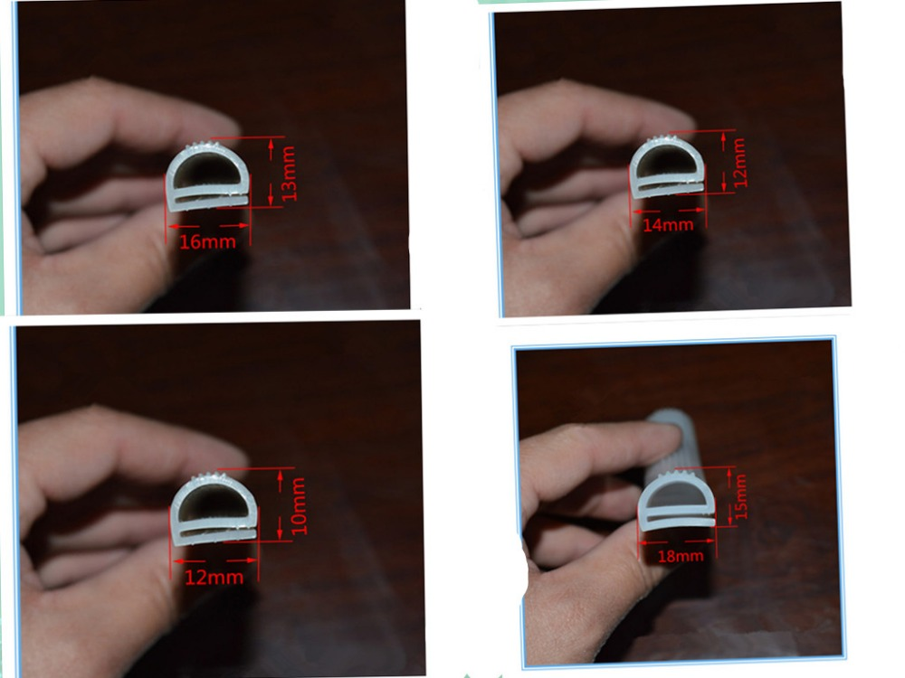 [해외]1 meter e Silicone Sealing Strip Oven Cold Store Seals  Anti-aging Heat-resistant  High temperature silicone rubber oven/1 meter e Silic