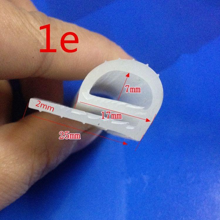 [해외]1Meter seal for oven high temperature silicone seal silicone seal strip seal for oven Steamed rice machine oven parts/1Meter seal for ov