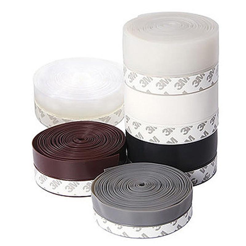 [해외]10 Meter 25mm 35mm 45mm Self-adhesive dust proof Door Seal Sealing strip acoustic foam Windproof Strip soundproofing Window Seal/10 Mete