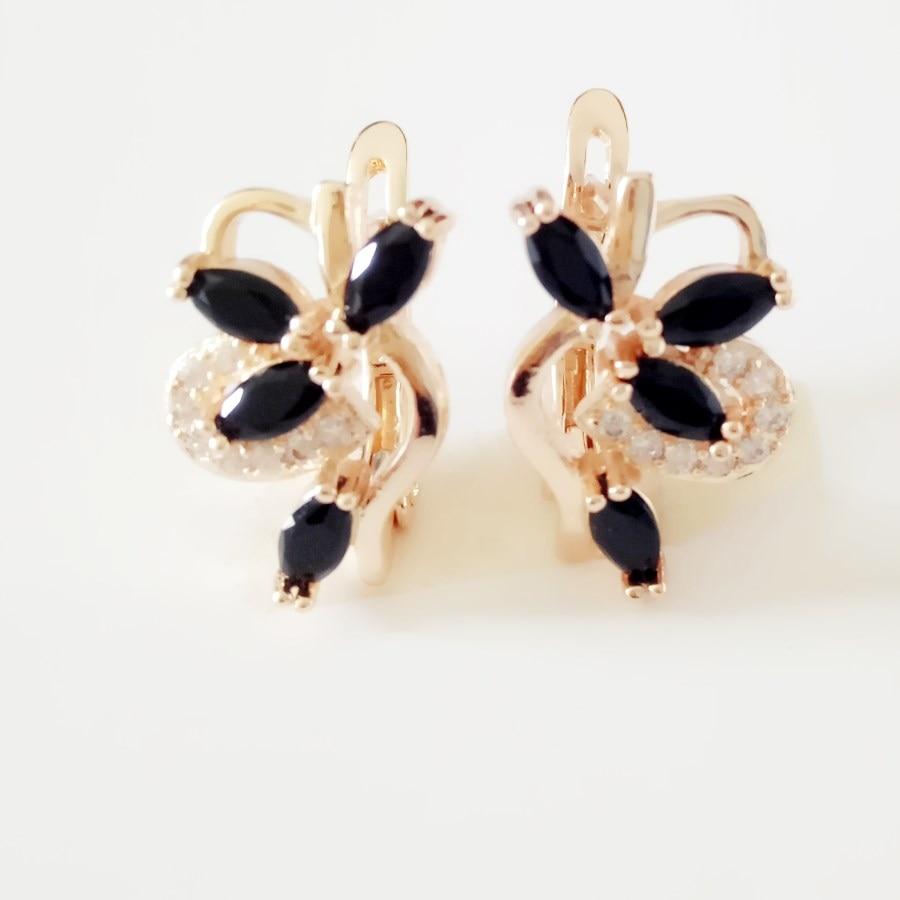 [해외]한국어 귀걸이 여성 드롭 귀걸이 Femme 쥬얼리 로즈 골드 컬러 여성 액세서리 럭셔리 새로운 디자인 드롭 귀걸이/Korean Earring Women Drop Earring Wholesale Femme Jewelry Rose Gold Color Women Ac
