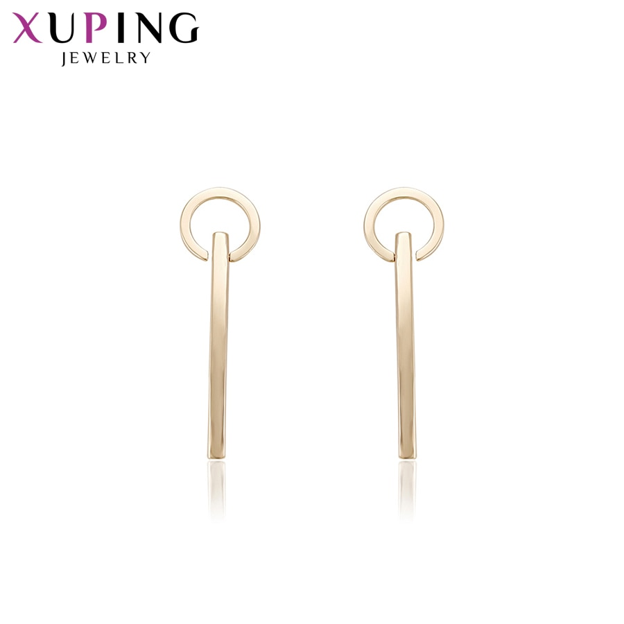 [해외]Xuping Fashion Elegant Earrings Charm Style Gold Color Plated Eardrops for Women Thanksgiving Jewelry Gift S76,3-94523/Xuping Fashion Elegant Earr