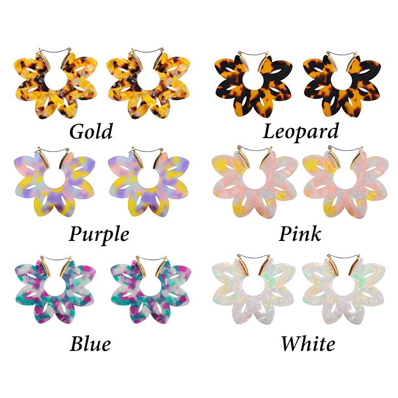 [해외]resin earrings, acrylic earrings, hoops, cheetah prints, tortoise shell earrings, leopard print hoop earrings/resin earrings, acrylic earrings, ho