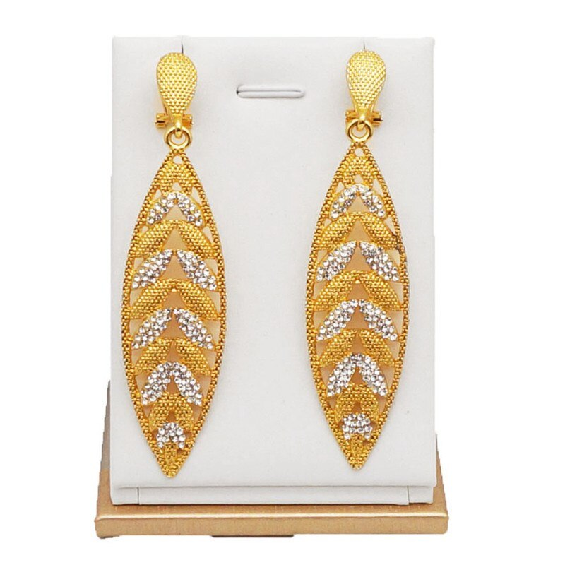 [해외]fashion design new jewelry  Earring sets and  24K gold earring  summer style gold earrings /fashion design new jewelry  Earring sets and  24K gold