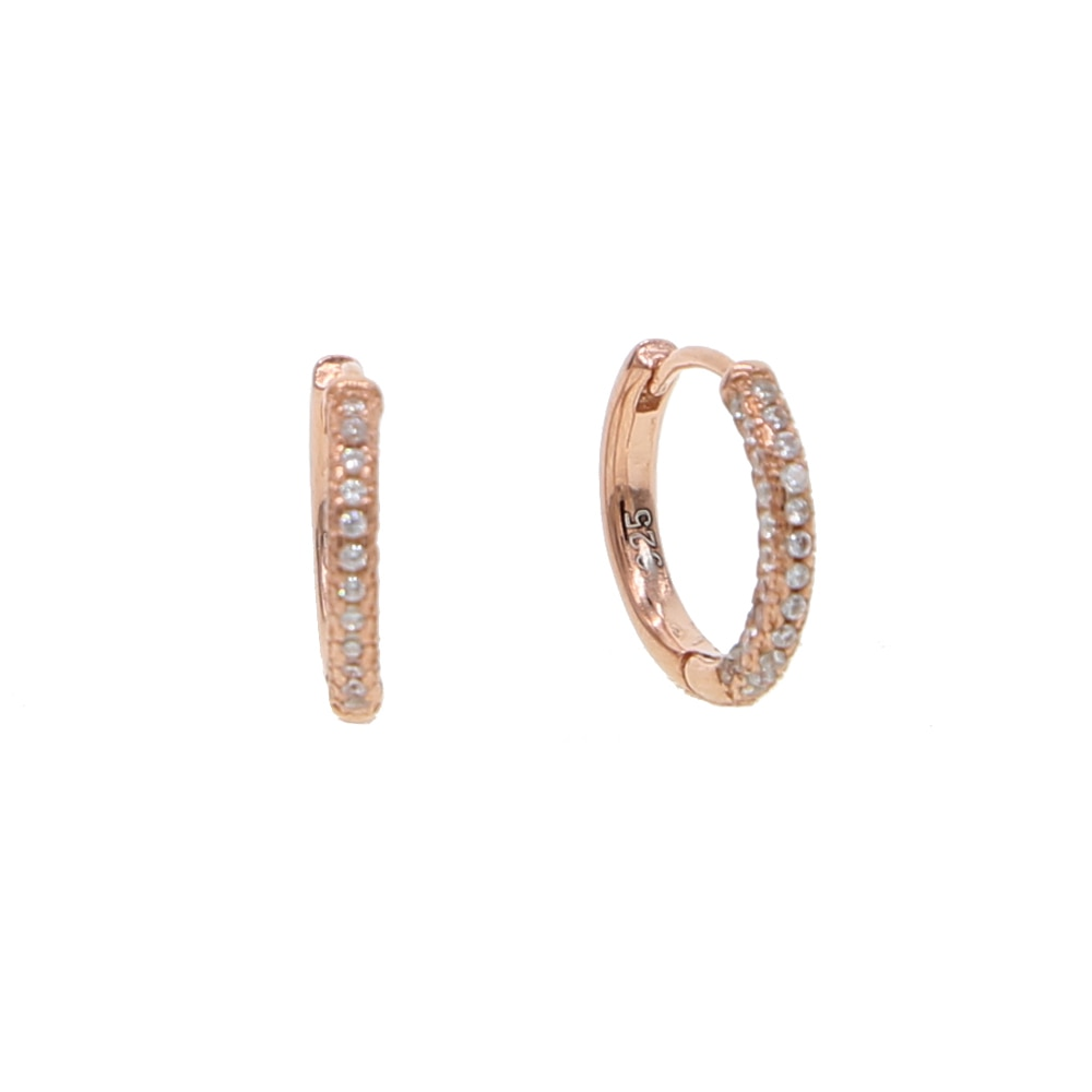 [해외]Huggie hoop earring Small mini size classic trendy women girl simple circle earrings/Huggie hoop earring Small mini size classic trendy women girl