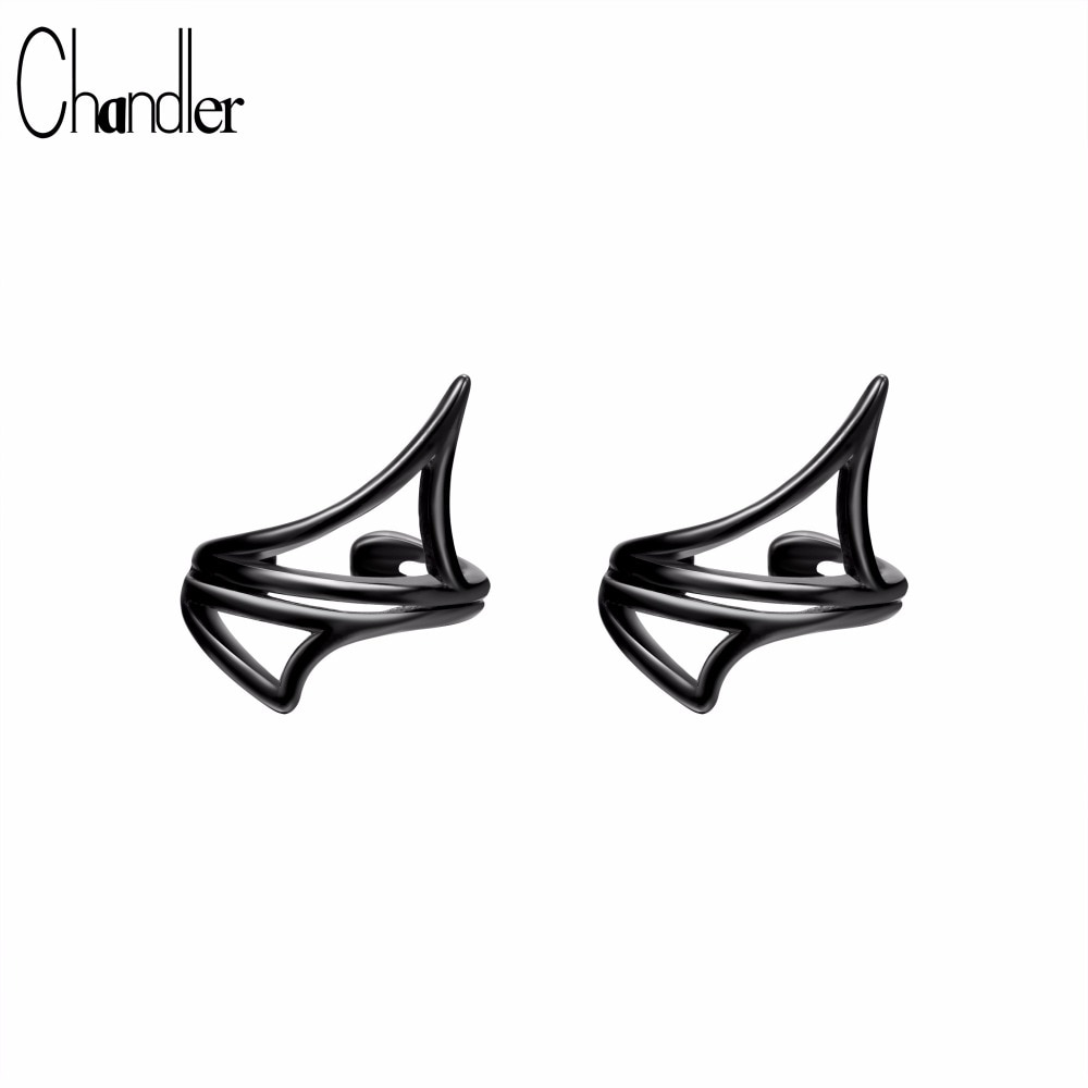 [해외]챈들러 클립 온 이어링 피어싱 없음 피어싱이 아닌 커프 링 클립 이어링/Chandler Clip-on Earrings no pierced Non-piercing earcuff Ear Clip clip earrings without piercing  ping