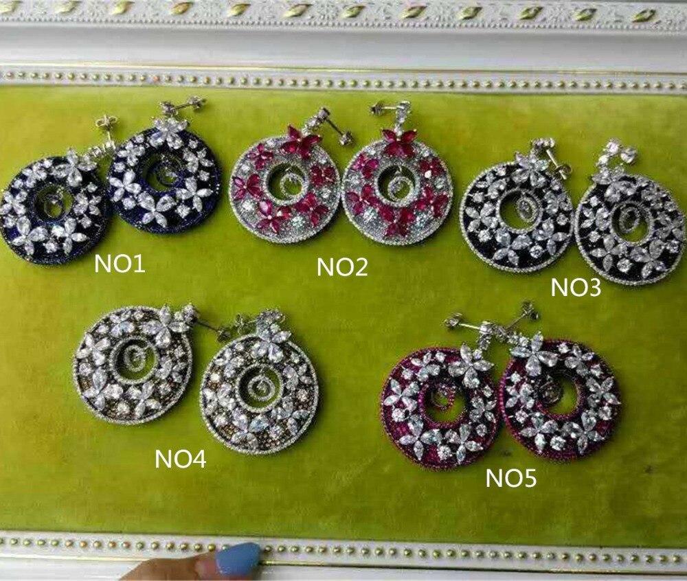 [해외]XB432 Luxury Designer Fashion 925 Sterling Silver shinning European style Jewelry leaves shaped wedding party  bz/XB432 Luxury Designer Fashion 92