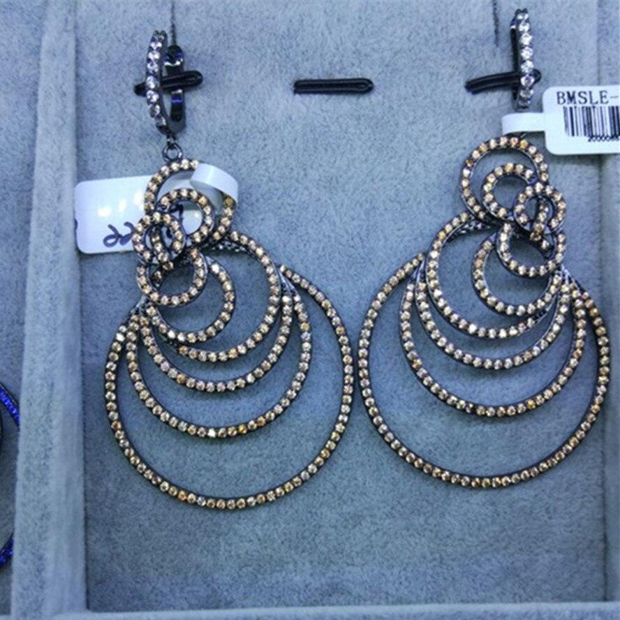 [해외]XB481 Luxury Designer Fashion 925 Sterling Silver shinning European style Jewelry leaves shaped wedding party  bz/XB481 Luxury Designer Fashion 92