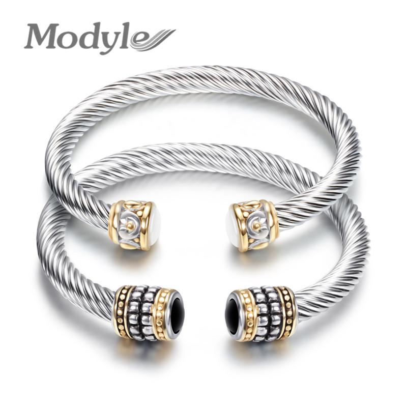[해외]Modyle Bracelet Multi Twisted Cable Wire Bangle Vintage Fashion Bangles Unique Designer Brand Christmas Cuff Bracelet/Modyle Bracelet Multi Twiste