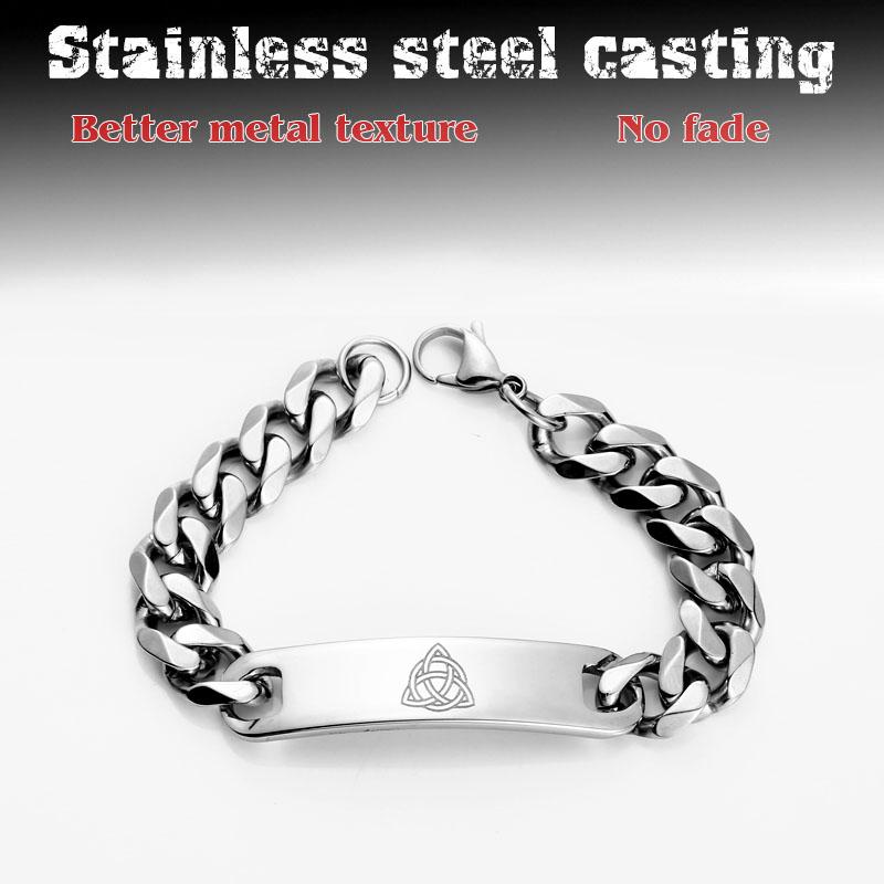 [해외]316L Stainless Steel Wholesale Price Punk Bracelet Nordic Viking  For Man Simple and stylish fashion jewelry LBR-C034/316L Stainless Steel Wholesa