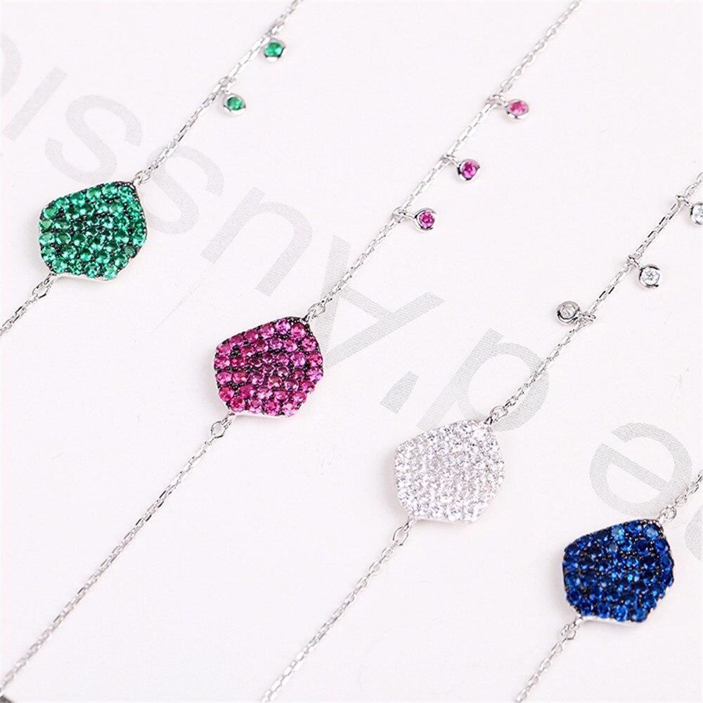 [해외]Fashion Irregular Shaped 925 Sterling Silver Pendant Bracelet Jewelry Bracelet Design For Women Fine Jewelry /Fashion Irregular Shaped 925 Sterlin