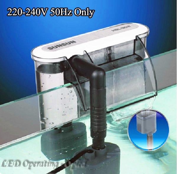[해외]Super 3W External Aquarium Filter Box Waterfall Water Pumps,2Size Active Carbon Sponge Board for fish tank external filter pump/Super 3W