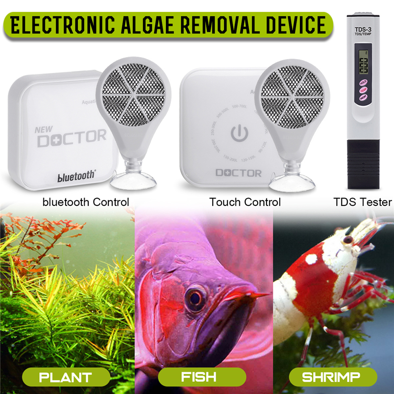 [해외]Bluetooth app control Chihiros Doctor 3 IN 1 Algae Remove Twinstar Style Electronic inhibit Aquarium fish plant shrimp tank/Bluetooth ap