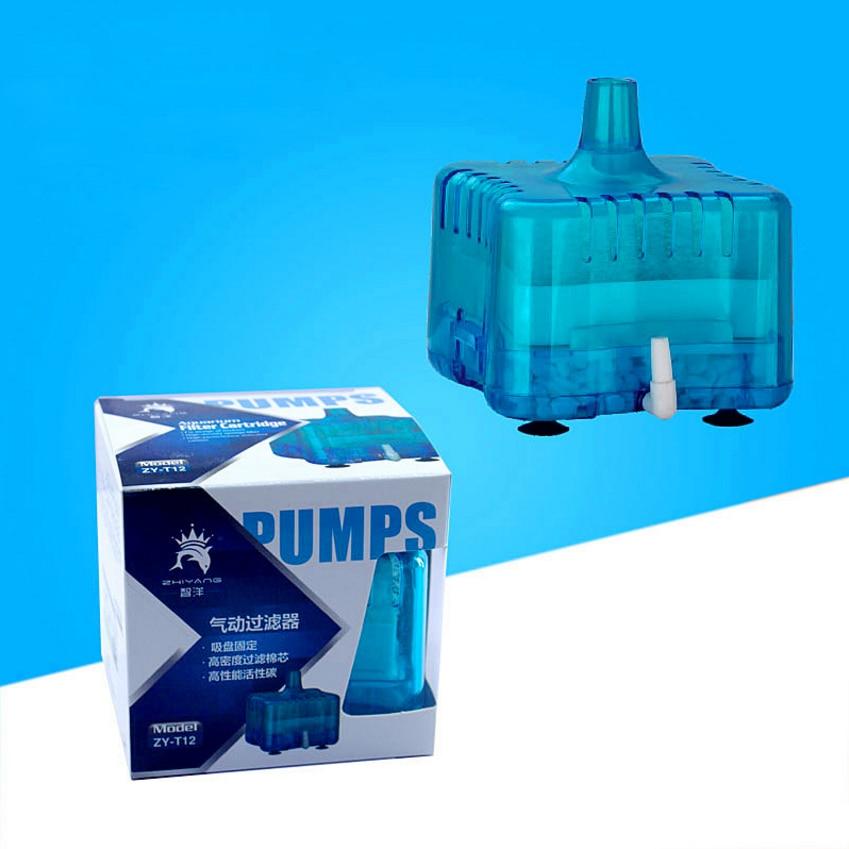 [해외]Mini Fish Tank Air Pump Skimmer Biochemical Sponge Filtration Filter Aquatic Aquarium Filter Accessories Pets Products/Mini Fish Tank Ai