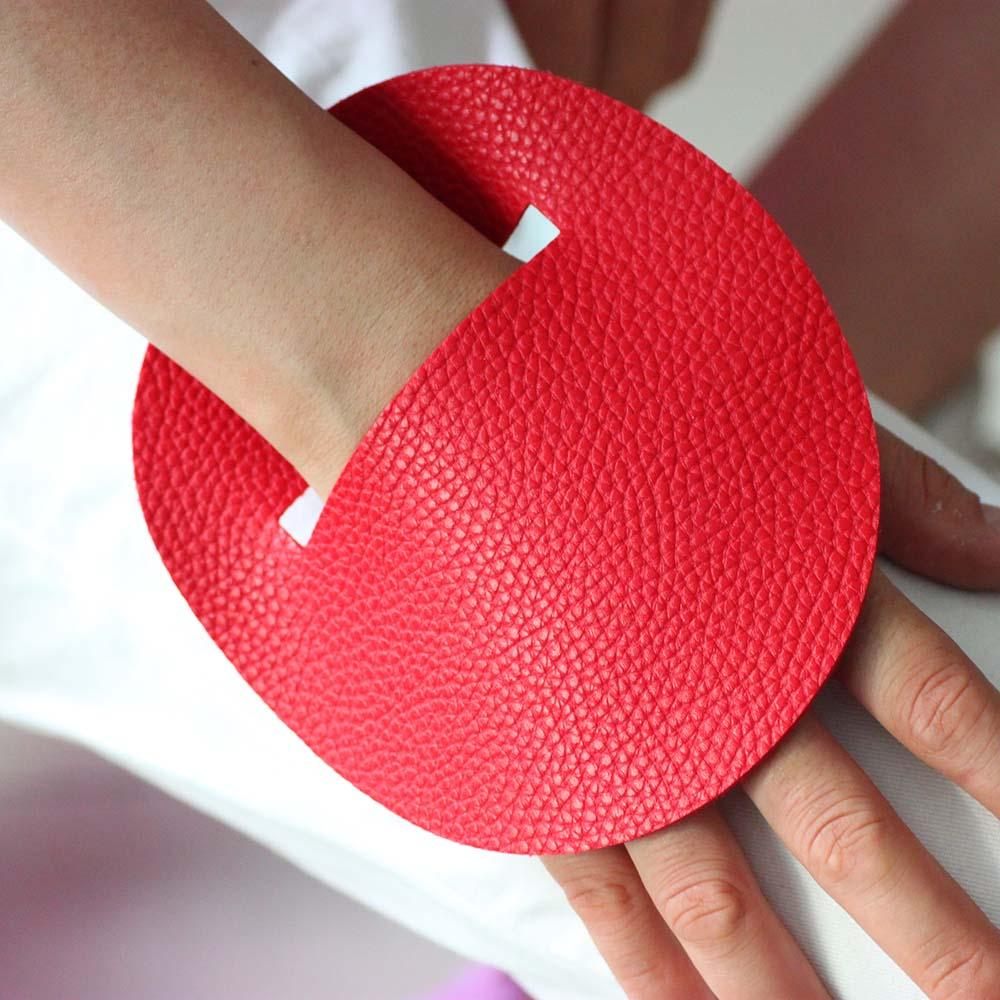 [해외]2019 New Luxury Leather Charm Bracelets For Women Red And Black Leather Bracelet Fashion Designer Handmade Jewelry Bracelets/2019 New Lu