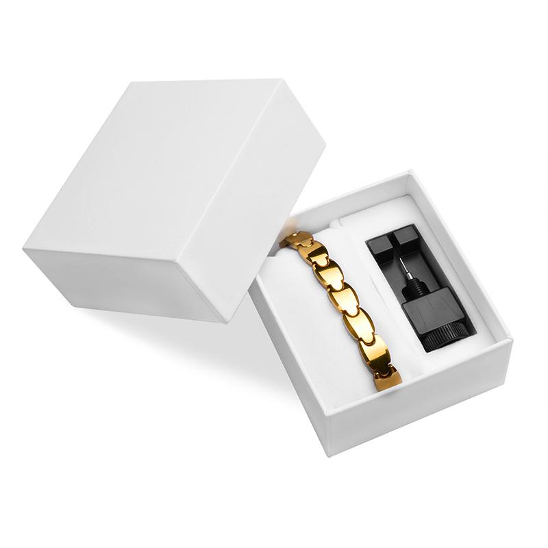 [해외]LITTLE FROG Tungsten Bracelets Bangles Magnetic Germanium Negative ions Far Infrared Tourmaline Men`s Jewelry/LITTLE FROG Tungsten Bracelets Bangl