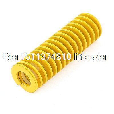 [해외]Yellow Alloy Steel Light Load Press Compression Die Spring 16x8x50mm/Yellow Alloy Steel Light Load Press Compression Die Spring 16x8x50m