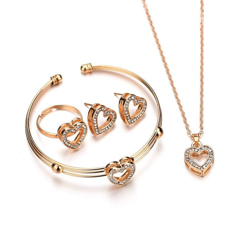 [해외]Red Rhinestone Adjustable Ring Design For Women Cute Wedding Party Classic Gift/Red Rhinestone Adjustable Ring Design For Women Cute Wedding Party