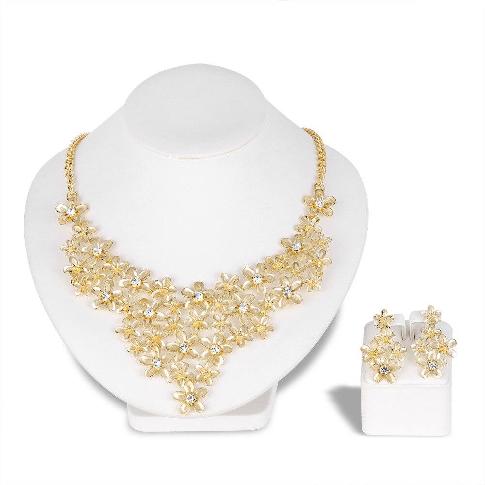 [해외]Wedding jewelry sets fashion jewelry 2018 gifts for women Romantic Necklace/Earrings Bridal Jewelry Sets Accessories/Wedding jewelry sets fashion