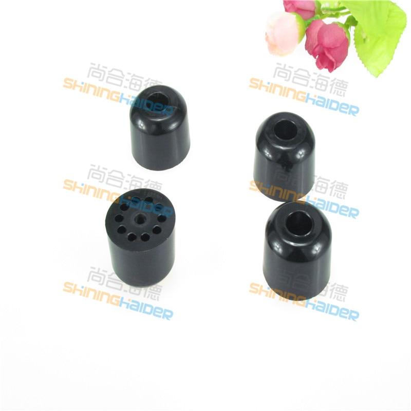 [해외]50PCS diameter 30-32mm black round rubber foot padgasket machine instrument rubber foot non-slip cabinet feet rubber feet/50PCS diameter