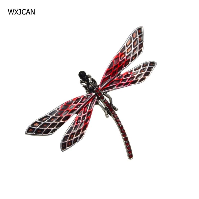 [해외]WXJCAN 7 style dragonfly brooch insect jewelry Enamel rhinestoe brooches jewelry fashion/WXJCAN 7 style dragonfly brooch insect jewelry Enamel rhi