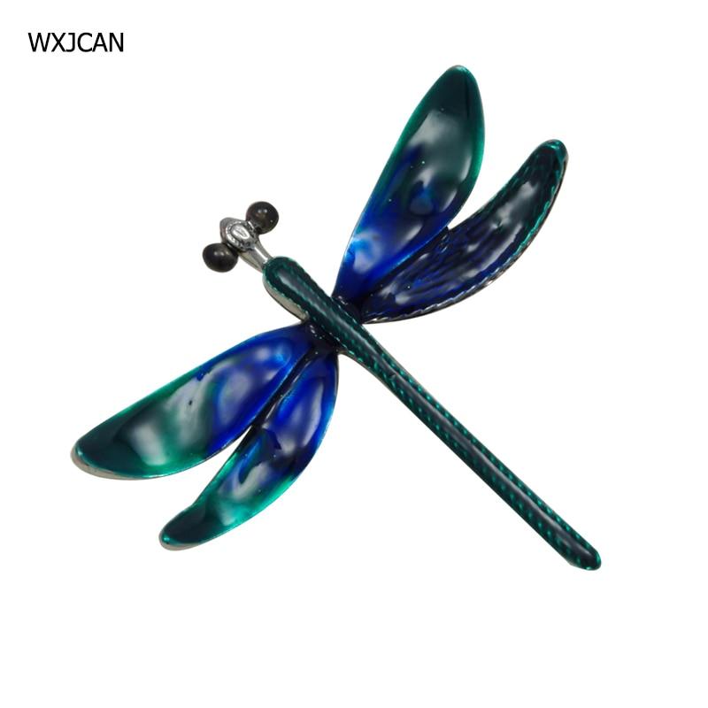 [해외]WXJCAN new 2019 large insect dragonfly brooch and pendant dual use Several layers of enamel is more vivid and high quality /WXJCAN new 2019 large