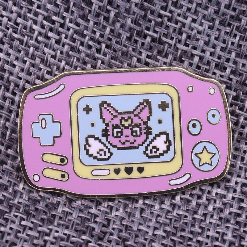 [해외]Game Boy Advance Lapel Pin Badge Brooch/Game Boy Advance Lapel Pin Badge Brooch