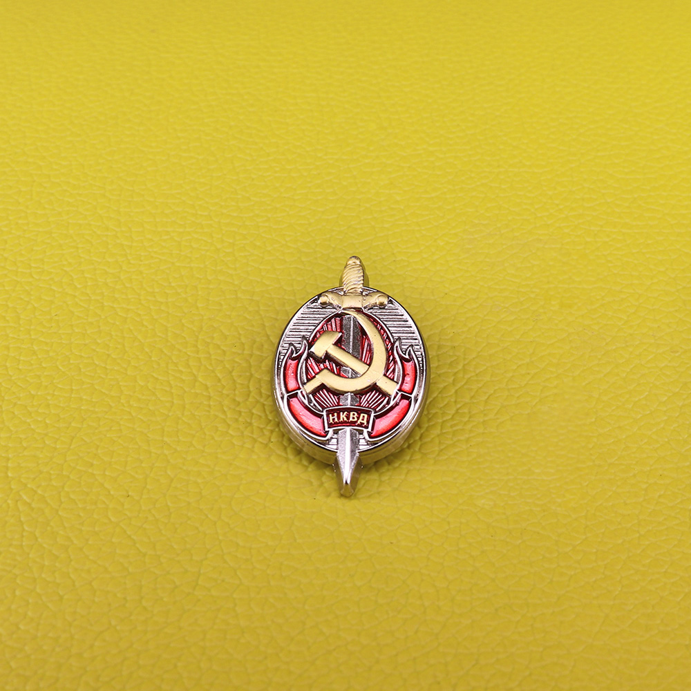 [해외]CCCP Army of Russia Soviet pin honorary officer NKVD Worker KGB Order badges USSR medal brooch for men/CCCP Army of Russia Soviet pin honorary off