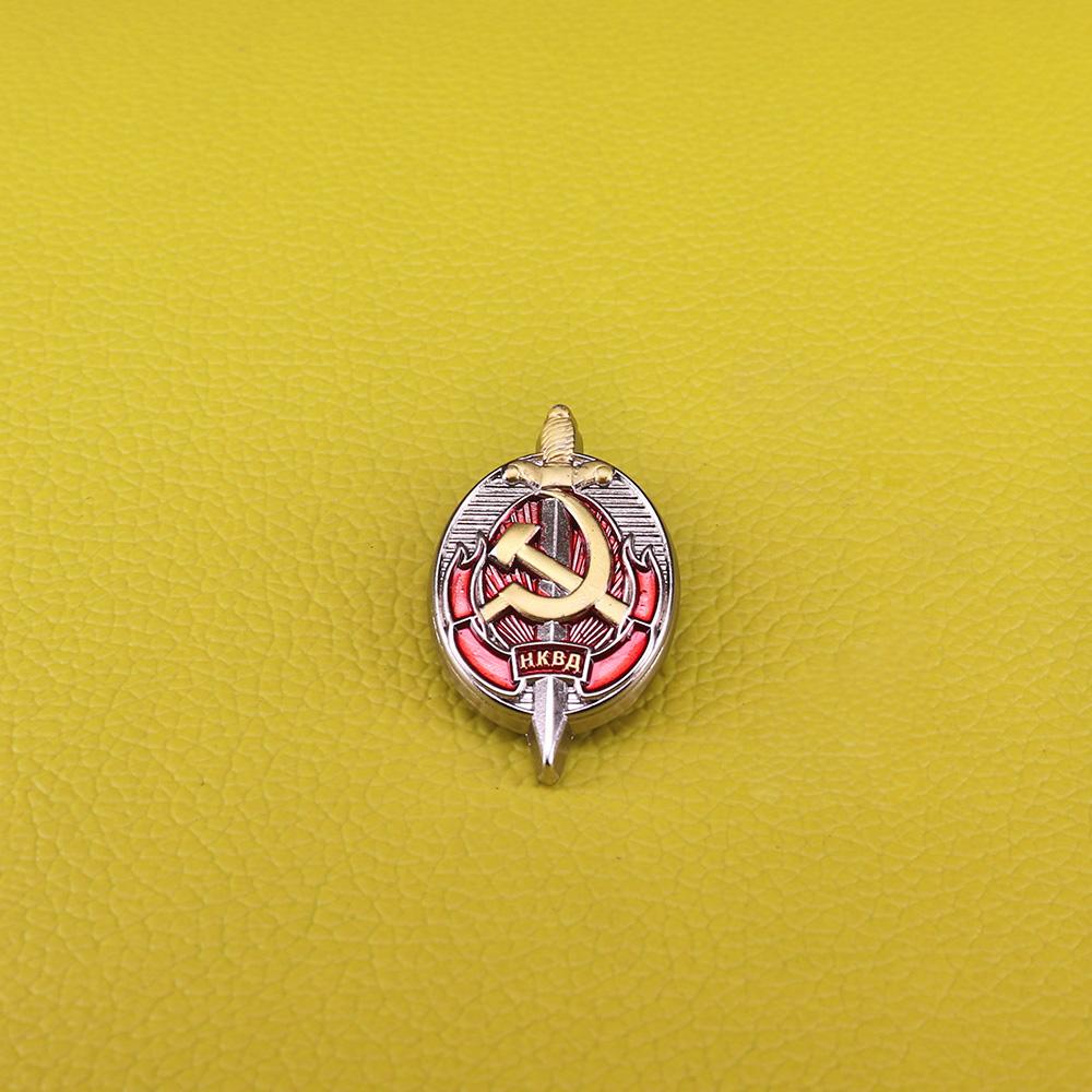 [해외]CCCP Army of Russia Soviet pin honorary officer NKVD Worker KGB Order badges USSR medal brooch for men/CCCP Army of Russia Soviet pin honorary off