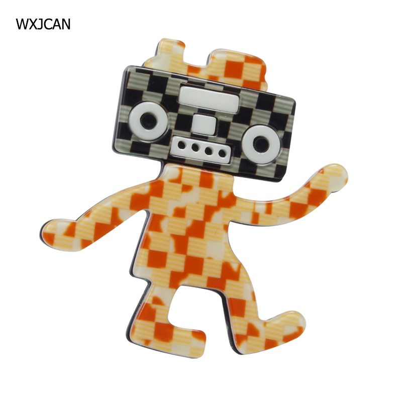 [해외]WXJCAN cartoon acrylic brooch badge Size 60mm*57mm/WXJCAN cartoon acrylic brooch badge Size 60mm*57mm