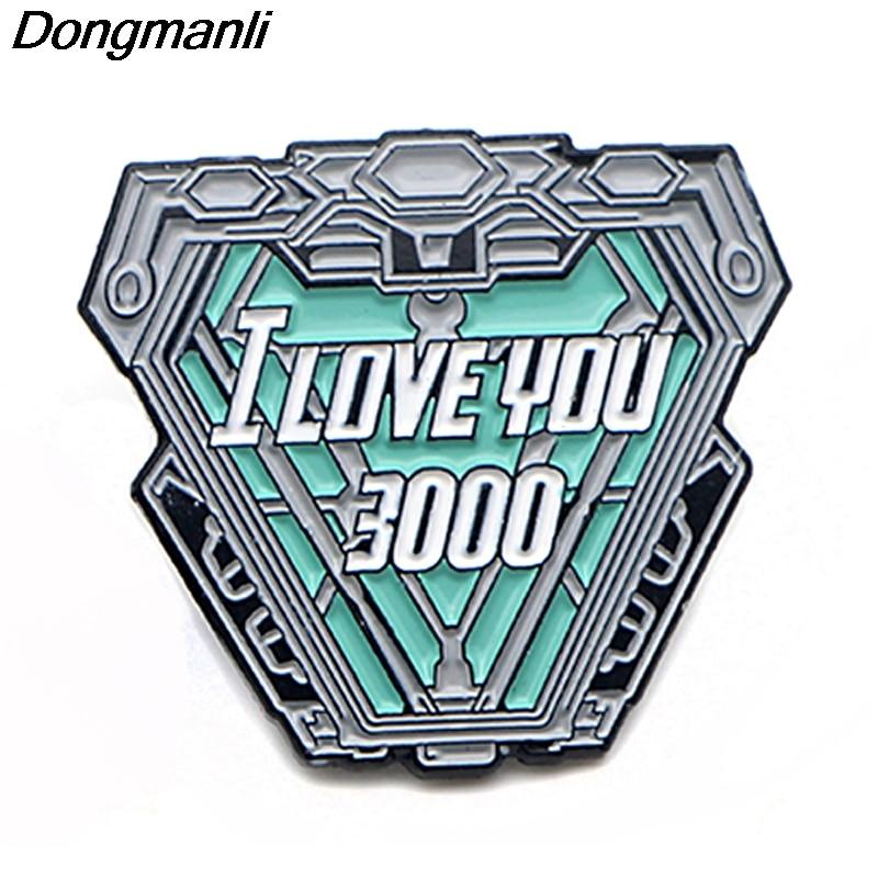 [해외]P3806 Dongmanli Fashion Cool Nuclear Reactor Metal Enamel Brooches and Pins Lapel Pin Backpack Badge Collar Jewelry/P3806 Dongmanli Fash