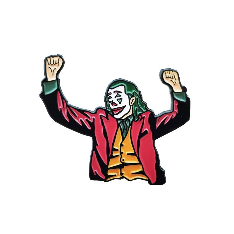 [해외]Joker 2019 enamel pin brooch/Joker 2019 enamel pin brooch