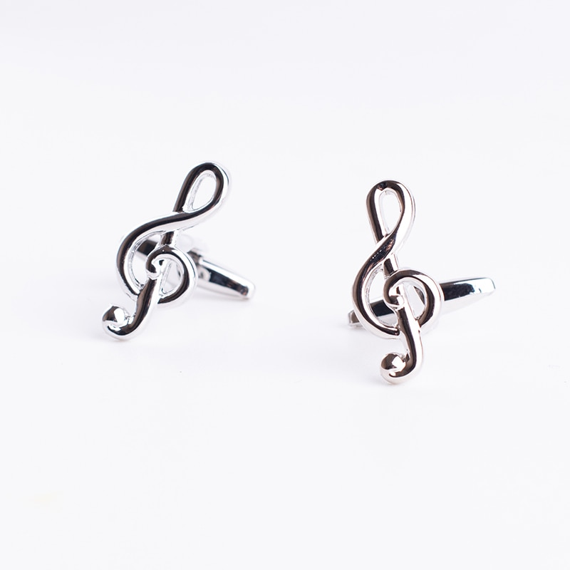 [해외]Music Design Musical Note Cuff Links/Music Design Musical Note Cuff Links