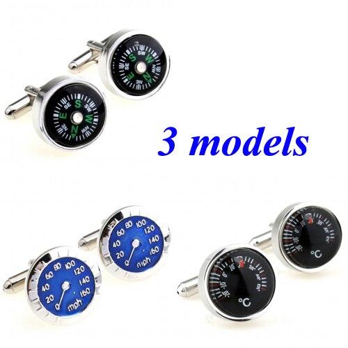 [해외]Fashion Speedometer Compass Thermometer Cufflink Cuff Link 1 Pair  Biggest Promotion/Fashion Speedometer Compass Thermometer Cufflink Cuff Link 1