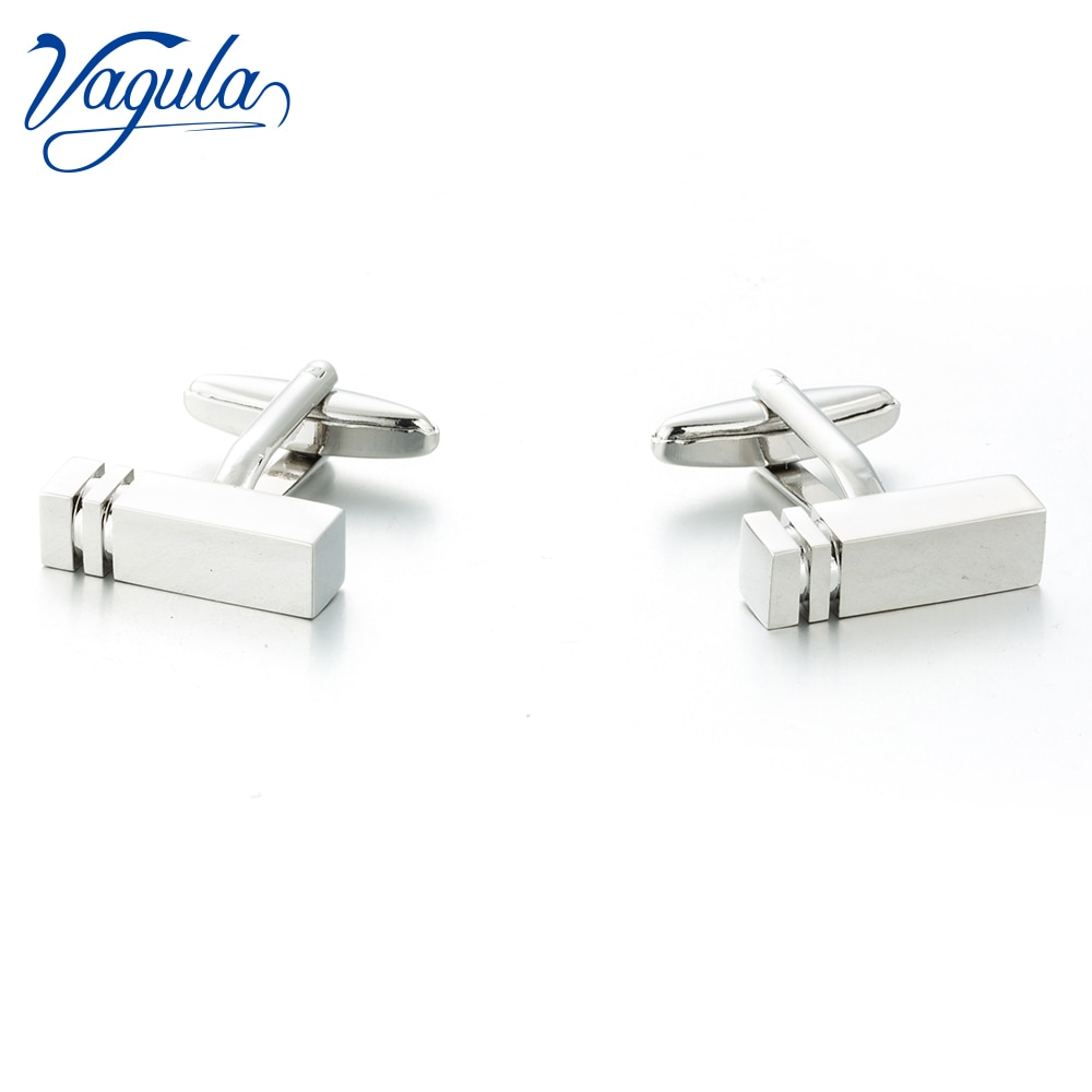 [해외]VAGULA New Cufflinks Top Luxury Brand Suit Shirt Bonito Gemelos Designer Rectangle Button Cuff links 373/VAGULA New Cufflinks Top Luxury