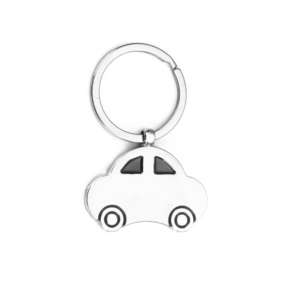[해외]DoreenBeads Keychain & Keyring Car Opener Style Pendant Silver Tone Color Accessories For Women Men, 1 Piece/DoreenBeads Keychain & Keyrin