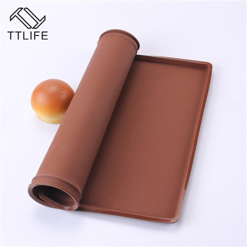 [해외]TTLIFE Swiss Roll Mat Tools Nonstick Baking Pastry Silicone Baking Rug Mat Silicone Mold Cake Pad Baking Tool Kitchen Accessorie/TTLIFE