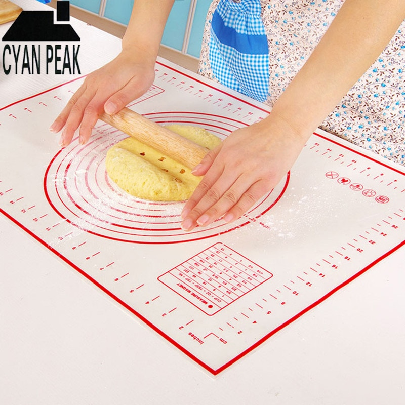 [해외]Silicone Mat Baking Tools For Cakes Pastry Tools Cooking Tools Utensils Bakeware Accessories Bakery Products Kitchen Baking Pad/Silicone
