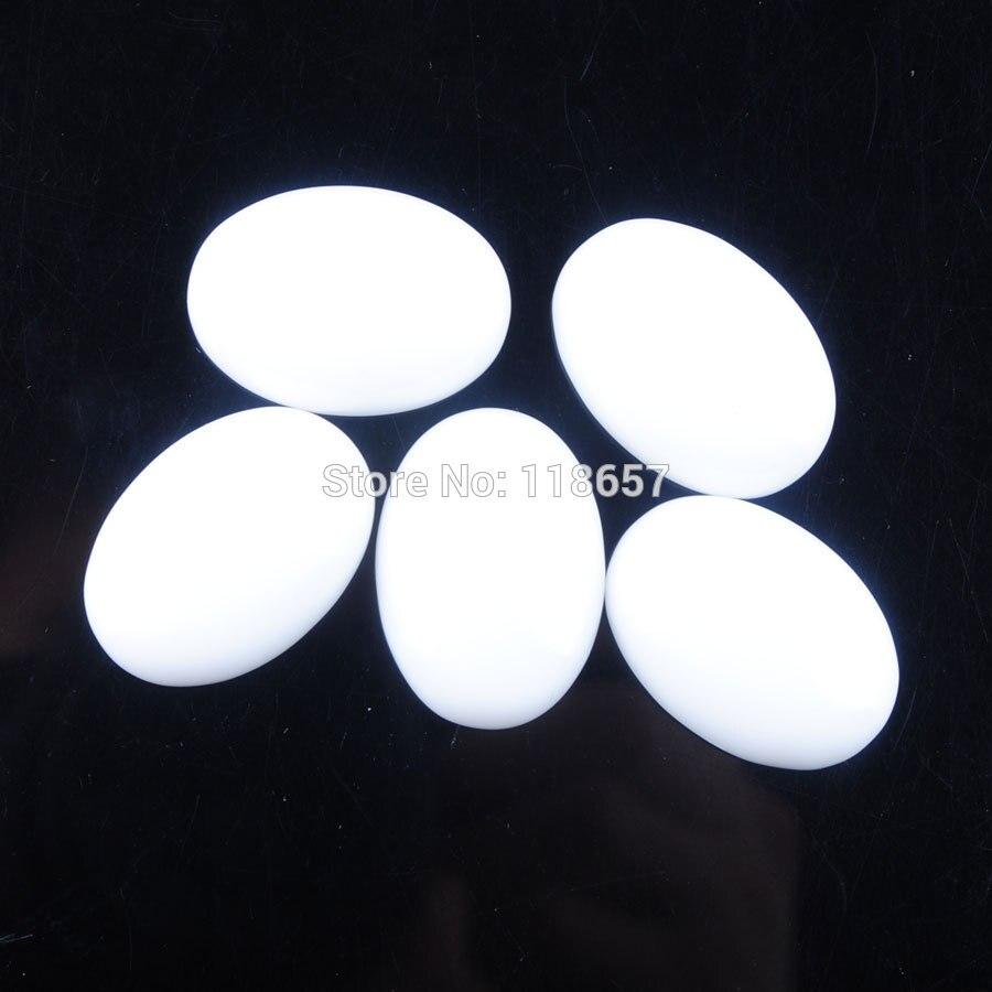 [해외]Free shipping YOWOST White Jades Gem Stone Oval Beads Cabochon CAB No Drill Hole Jewelry 18x25x7mm 5pcs/lot IU3126/Free shipping YOWOST White Jade