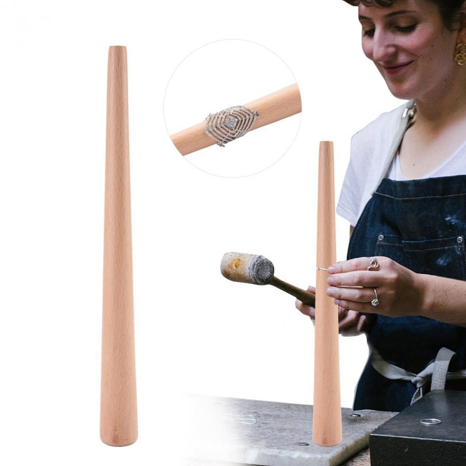 [해외]손가락 반지에 대 한 테이퍼 우드 mandrel 스틱 도구 쥬얼리 반지 크기 만들기 연마 측정 스틱 링 보석 도구/손가락 반지에 대 한 테이퍼 우드 mandrel 스틱 도구 쥬얼리 반지 크기 만들기 연마 측정 스틱 링 보석 도구