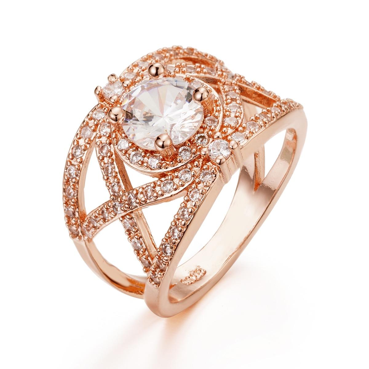 [해외]ZN 2019 Engagement Wedding Rings for Women anillos mujer Promise Vintage Ring Luxury Fashion Jewelry Accessories /ZN 2019 Engagement Wedding Rings