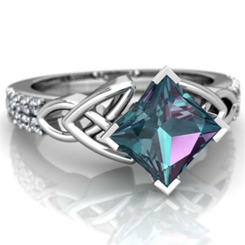 [해외]Ring 2.8CT Natural Vintage Jewelry Engagement Wedding Anniversary fashion Popular Classic Classic delicate gift Size 6-10 /Ring 2.8CT Natural Vint
