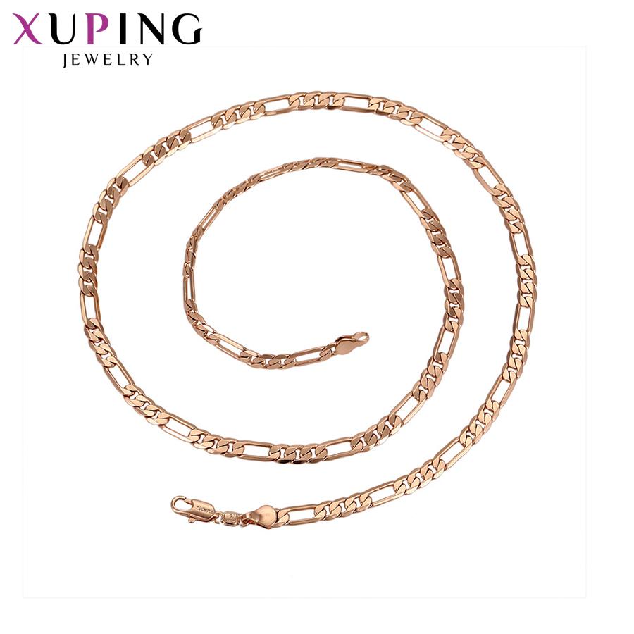[해외]11.11 Xuping 패션 매력 목걸이 로즈 골드 컬러 도금 목걸이 보석 여성을2017 새로운 디자인 파티 선물 S69,2-43499/11.11 Xuping Fashion Charm Necklace Rose Gold Color Plated Necklace Je