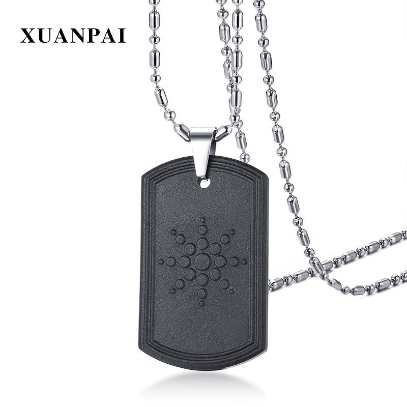 [해외]XUANPAI 독특한 퀀텀 스칼라 에너지 펜던트 목걸이 패션 바이오 망 마그네틱 양쪽 망 네거티브 이온/XUANPAI Unique Quantum Scalar Energy Pendant Necklace Fashion Bio Mens Magnetic Hematite