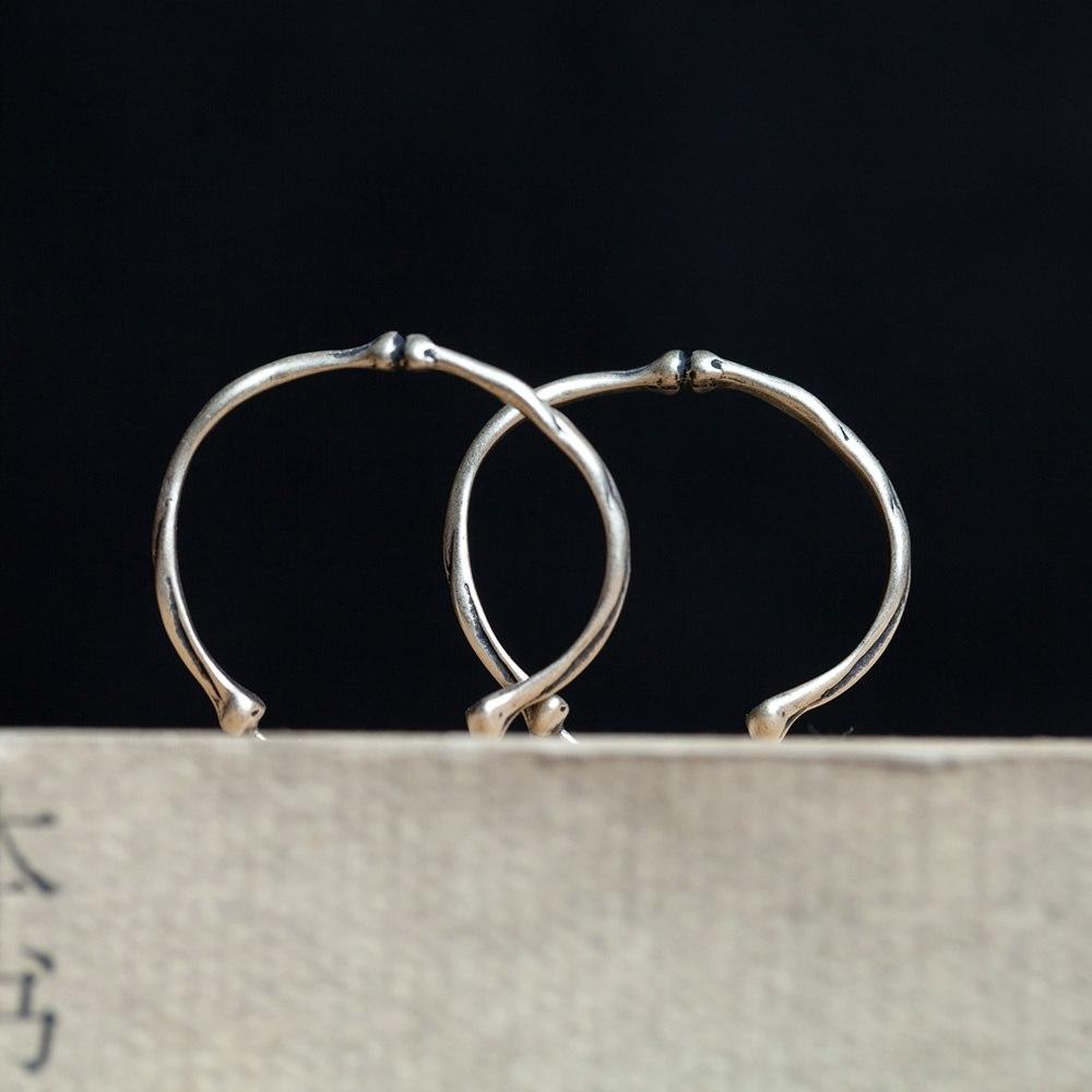[해외]다크 드림 925 스털링 실버 리브 케이지 고딕 펑크 후프 귀걸이 보석 공장 직접 판매/Dark Dream 925 Sterling Silver Rib Cage Gothic Punk Hoop Earrings Jewellery Women Factory Direct