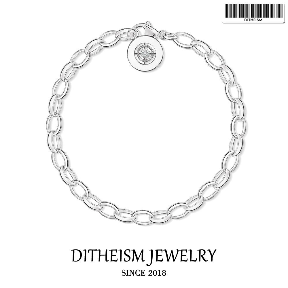[해외]매력 팔찌 StarLobster 걸쇠, 2018 여성용 여자를새로운 925 스털링 실버 패션 쥬얼리 유행 챠콜리 선물/Charm Bracelets StarLobster Clasp, 2018 New 925 Sterling Silver Fashion Jewelry